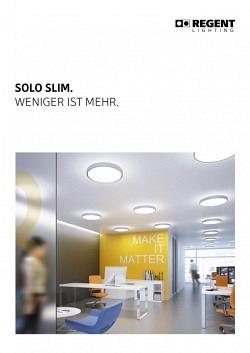 Broschüre Solo Slim
