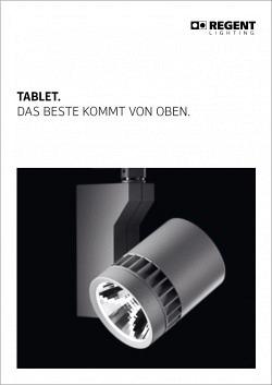 Broschüre Tablet