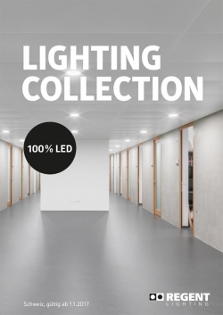 Catalogue Lighting Collection 2017 - CH