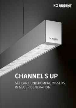 Folder Channel S UP (3e édition)